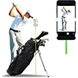SelfieGolf Golf Swing Phone Holder - Selfie Putting Training Aids - Golf Analyzer Accessories | Winner of The PGA Best Produc