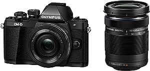 OLYMPUS ミラーレス一眼 OM-D E-M10 MarkII EZダブルズームキット ブラック