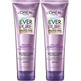 L'Oreal Paris Hair Care EverPure Volume Sulfate Free Shampoo and Conditioner Kit for Color-Treated Hair, Volume + Shine for F
