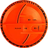 Constructive Eating Construction Toddler Plate for Kids: Make Toddler Feeding Easier with Fun Kids Dinner Plate Made from Non