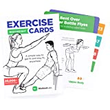 WorkoutLabs Exercise Cards: Bodyweight – Premium Home Workout Cards Deck for Women and Men with 60 Exercises and 12 No Equipm