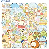 SPIRO 100pcs Sumikk_o Gurashi Sticker Cute Cartoon Stickers Vinyl Waterproof Stickers for Kids Teens Adults Laptop Water Bott
