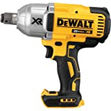 DEWALT 20V MAX* XR Cordless Impact Wrench with Hog Ring Pin Anvil, 1/2-Inch, Tool Only (DCF897B)