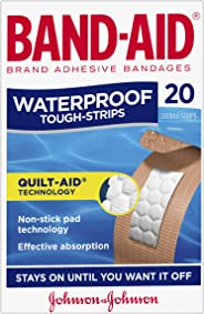 Band-Aid Tough Strips Waterproof Regular 20