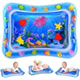 Water Play Mat, Inflatable Infant Baby Toys and Toddler Entertainment Activity Game Center, used for the growth of the brain