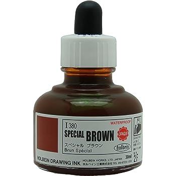 ホルベイン ドローイングインク 30ml スペシャル ブラウン