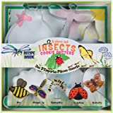 Fox Run Insect Cookie cutters, 5.75 x 5.75 x 1 inches, Metallic
