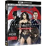 batman v superman - dawn of justice - ultimate edition (4k ultra hd + blu-ray disc) Blu-ray Italian Import