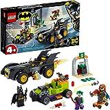 LEGO DC Batman: Batman vs. The Joker: Batmobile Chase 76180 Collectible Building Toy; Includes Batman, Batgirl and The Joker