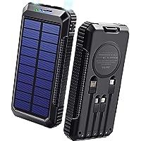 【40800mAh & Qiワイヤレス充電 & PD18W対応】 ソーラーモバイルバッテリー 大容量 ソーラーチャージャ…