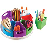 Learning Resources Create-a-Space Storage Center, Homeschool Accessories, Fits 3oz Hand Sanitizer Bottles, Bright Colors, Cla