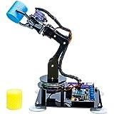Adeept 5-DOF Robotic Arm Kit Compatible with Arduino IDE   5Axis Robot Arm Programmable Robot DIY Coding Robot Kit   STEAM Ro