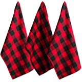 DII Cotton Buffalo Check Table Runner for Family Dinners or Gatherings, Indoor or Outdoor Parties, & Everyday Use, 100% Cotto