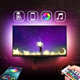Nexillumi LED Strip Lights TV LED Backlight RGB LED Strip USB Powered for 24 Inch-60 Inch TV, Multicolor 10.00W, 5.00V