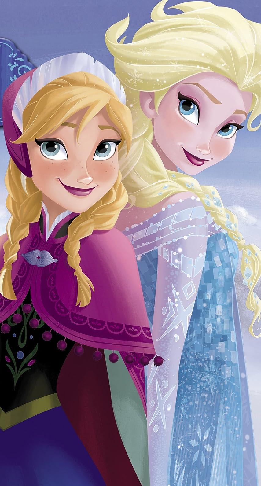 ディズニー 『アナと雪の女王』アナ,エルサ iPhone8/7/6s/6 壁紙 視差効果 画像39942 スマポ