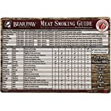 Bear Paw Products All-Weather Meat Smoking Guide Magnet (Wood)