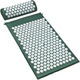 Sivan Health and Fitness?Acupressure Mat and Pillow Set for Lower Upper Mid Chronic Back Pain Treatment Pillow Therapy Reliev