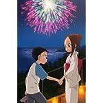 からかい上手の高木さん iPhone(640×960)壁紙 花火大会 西片くん,高木さん