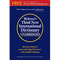 Webster's Third New International Dictionary: Since 1847 the…