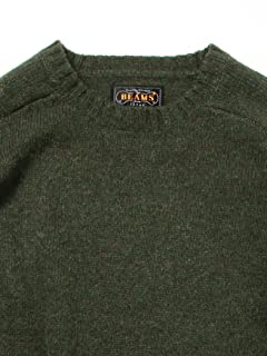 5 Gauge Wool Crewneck Sweater 11-15-0683-103: Olive Drab