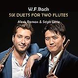 W.F.バツハ2本のフルートのための二重奏曲集