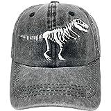 NVJUI JUFOPL Boys' Funny Embroidered Baseball Cap Vintage Washed Adjustable Dad Hat for Kid
