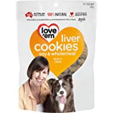 Love 'Em Liver Cookies, Medium and Large Dogs, Puppy, 450g