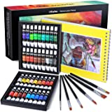 Watercolor Paint Tubes, 36 Water Colors Ohuhu Art Watercolors Painting Kit for Artists, Students, Beginners, Water-color Pain