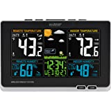 La Crosse Technology 308-1414MB-INT Wireless Color Weather Station with Mold Indicator, Black
