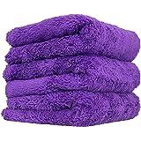 Happy Ending Ultra Plush Edgeless Microfiber Towel, Purple