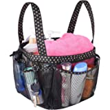 Haundry Mesh Shower Caddy Portable for College Dorm Large Bathroom Tote Bag with 8 Pockets Waterproof