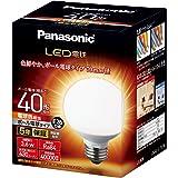 パナソニック LED電球 口金直径26mm 電球40形相当 電球色相当(3.6W) 一般電球・ボール電球タイプ 70mm径 屋外器具対応 LDG4LG70W