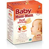 Baby Mum-Mum Apple and Pumpkin Flavour First Rice Rusks, 36 g