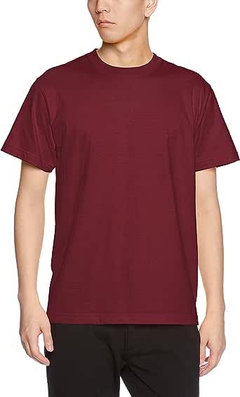 (ユナイテッドアスレ)UnitedAthle 5.6オンス ハイクオリティー Tシャツ 500101 072 バーガンディ S