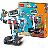 STEM Robot Building Block Toy for Kids, OKK Remote and APP Controlled Engineering Science Educational Assembling Learning Kit