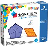 Magna Tiles 8-Piece Polygons Expansion Set – The Original, Award-Winning Magnetic Building Tiles – Creativity and Educational