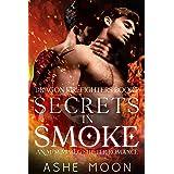 Secrets in Smoke: An M/M Mpreg Shifter Romance (Dragon Firefighters Book 2)