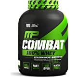 MusclePharm, コンバット100%ホエイタンパク質, クッキーアンドクリーム, 5ポンド (2269 g)