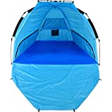 NARMAY Sun Shelter Easy Set Up Beach Tent with Extendable Floor