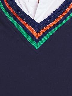United Arrows Sweat Vest 1117-699-2342: Navy