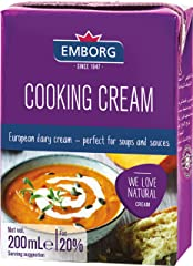 Emborg Cooking Cream, 200ml - Chilled