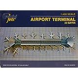 GJARPTC Airport Terminal Double ROTUNDA GEMGJARPTC 1:400 Gemini Jets Airport Terminal with 22 Gates (pre-Painted/pre-Built)
