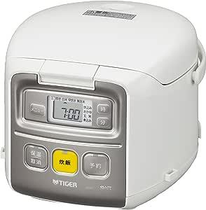 タイガー魔法瓶(TIGER) 炊飯器 一人暮らし用「3合炊き」 ホワイト 0.54L JAI-R551-W