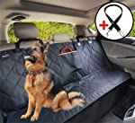 YoGi LifeStyle Dog Car Seat Cover for Large Dogs -Not Hammock- Heavy Duty Dog Waterproof Backseat Covers, Pets Seat...