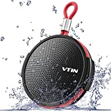 VTIN Q1 Bluetoothスピーカー 防水 IPX5防水仕様 防塵&防水 5W出力 大音量 8時間連続再生 高音質 内蔵マイク搭載 ポータブルスピーカー お風呂ワイヤレススピーカー 小型スピーカー アウトドア スマホ/タブレット等対応