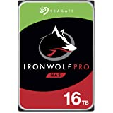 Seagate IronWolf Pro 16TB NAS Internal Hard Drive HDD – CMR 3.5 Inch SATA 6GB/S 7200 RPM 256MB Cache for Raid Network Attache