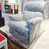 Pakoula Plastic Couch Cover Pets | Cat Scratching Protector Clear Waterproof Armchair/Recliner Cover,Furniture Protector for