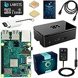 LABISTS Raspberry Pi 3 Model b+ ラズベリーパイ 3 b+ MicroSDHCカード32G/NOOBSシステムプリインストール/カードリーダ /5V/3A スイッチ付電源/高品質HDMIケーブルライン/ヒートシンク/簡単