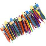 Horizon Group USA Paint Brushes -35 All Purpose Paint Brushes Value Pack – Includes 8 Different Types of Brushes, Great with