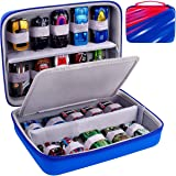 ALKOO Matchbox Cars Storage Case Compatible with Hot Wheels Cars Gift Pack, Organizer Box Compatible with Hotwheels Diecast H